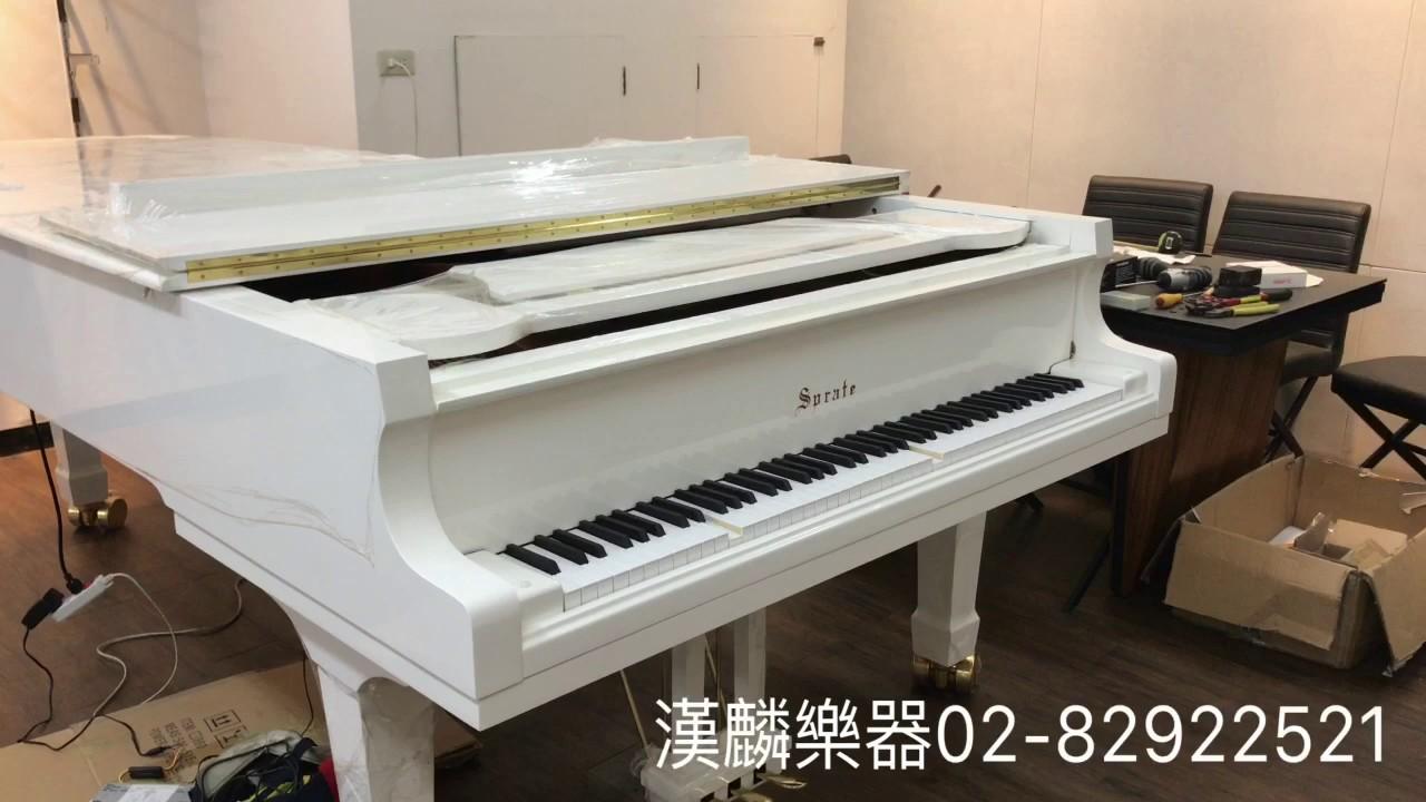 漢麟樂器自動演奏系統 SPRATE自動演奏鋼琴 感謝恆美建設勝輝機構大樓採用 - YouTube