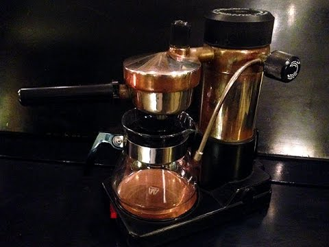 AMA Milano Espresso Maker Demo (Copper-Patina Model)
