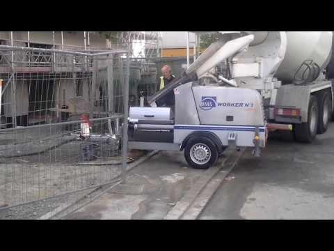 BMS WORKER N°1 Fluid Pump, Vorführung