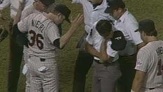 MIN@CAL: Joe Niekro ejected from game