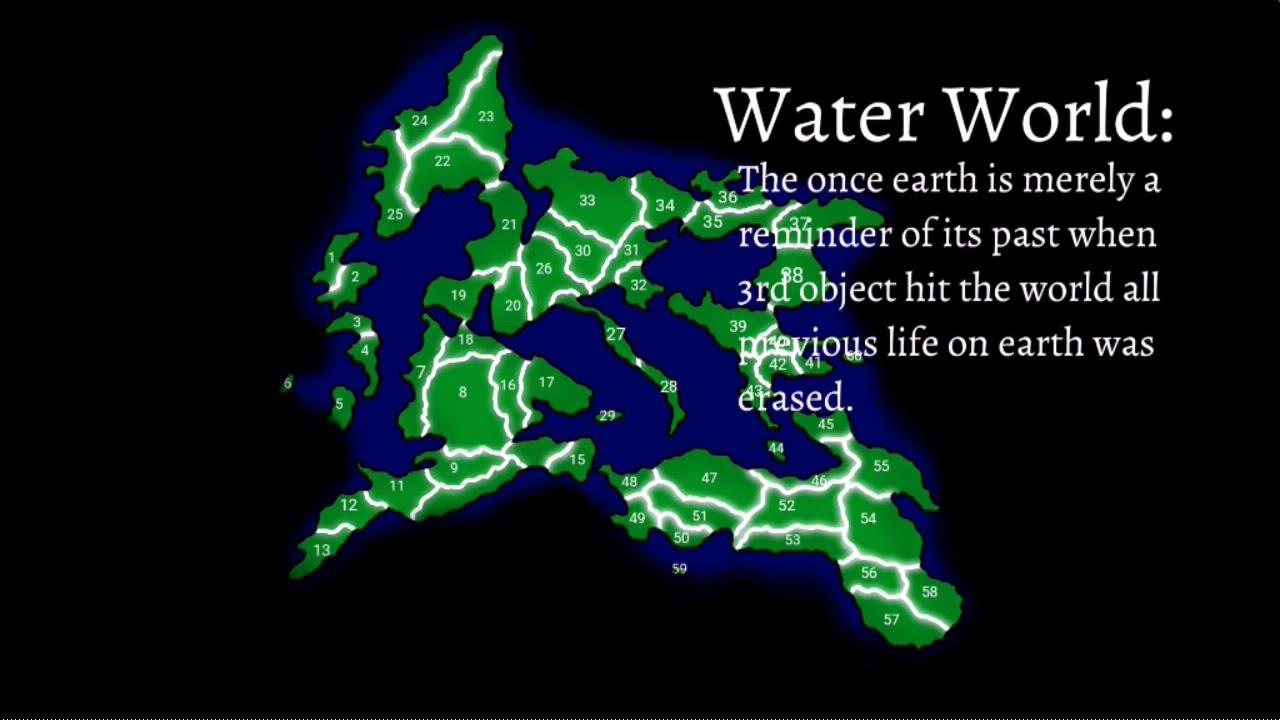 Alternative Future of Water World(Viewer Wars)