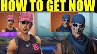 How To Get Warpaint and Rose Team Leader Outfits in Fortnite Battle Royale