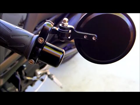 How to Reuse Stock Weighted Bar Ends with 7/8 CRG Style Mirrors