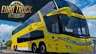 Euro Truck Simulator 2 Mod Bus | Itapemirim - Rio de Janeiro/Salvador - Mapa RBR + EAA