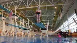 Прыжки в воду дети. 2 Минск Тренер Татьяна Анатольевна Ярошевич