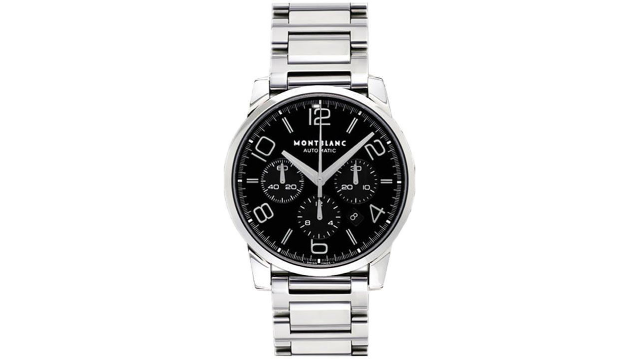47020316e6a35 Montblanc Timewalker Chronograph 9668 - YouTube