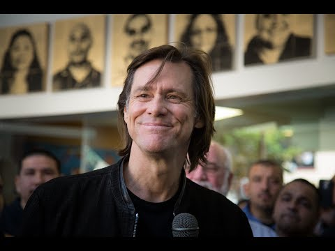 Thought for the Day: Jim Carrey - 09/09/17: This Room is Filled With God