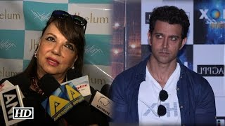 Sussane Khan's Mother Zarine Khan COMMENTS on Hrithik's 'Kaabil'