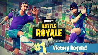 Fortnite - Royal Victory with skin and ballet of the World Cup!!!