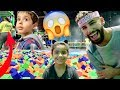 TODDLER GETS IN TROUBLE AT TRAMPOLINE PARK!!