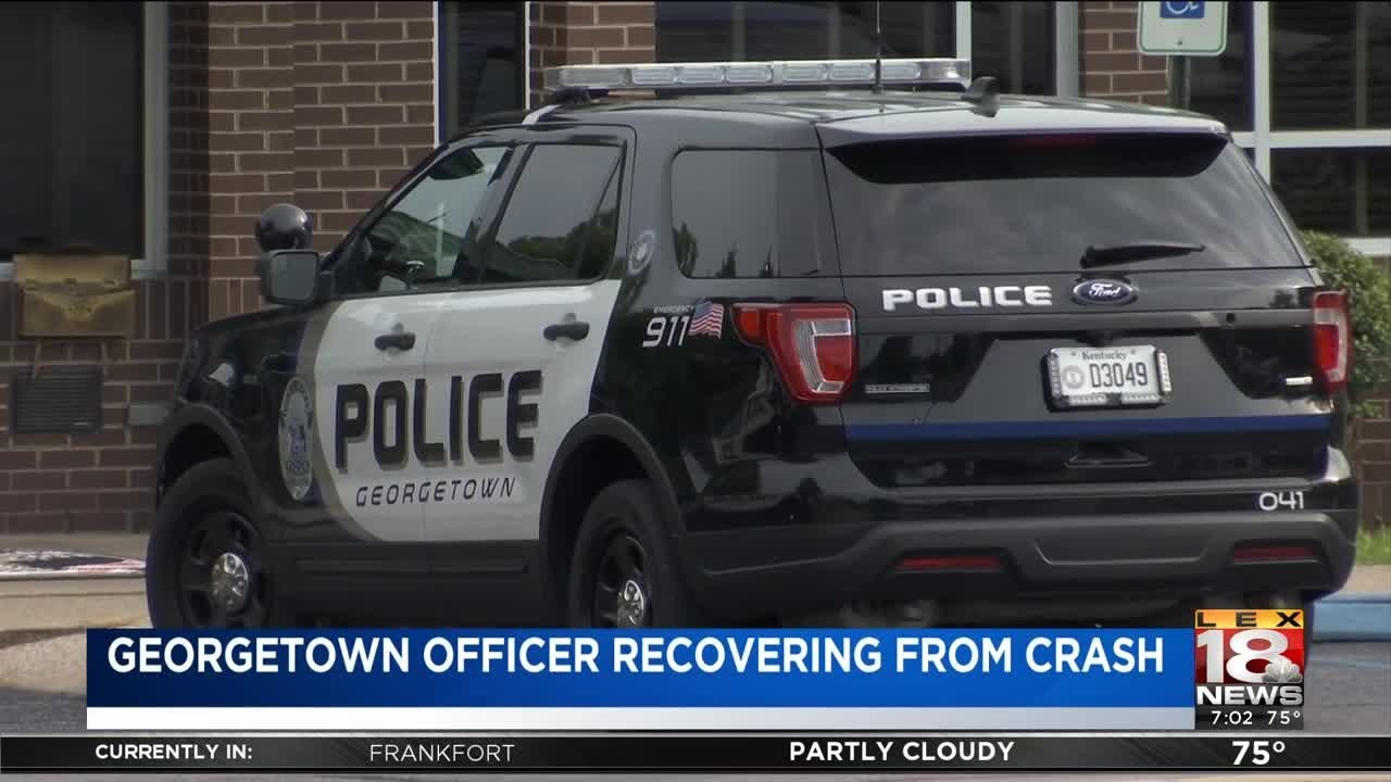 Georgetown Officer Recovering After Hit-Run In Wisconsin