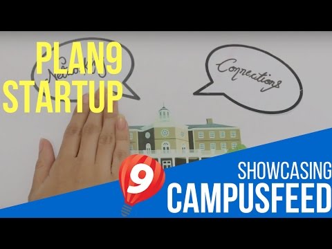 Plan9 Technology Incubator - Cycle 08 - Campus Feed