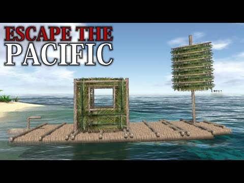 KINDA LIKE STRANDED DEEP | Escape The Pacific | First Impressions Gameplay (Island Survival)