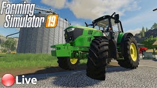 ???? [LIVE] Farming Simulator 19 -