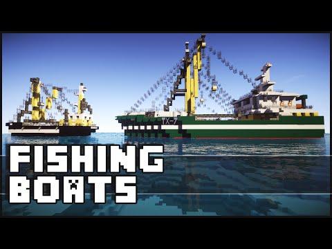 Minecraft - Amazing Fishing Boats
