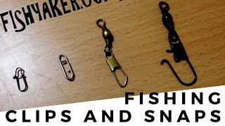 Should You Use Snaps and Clips to Connect Fishing Lures?: Episode 228