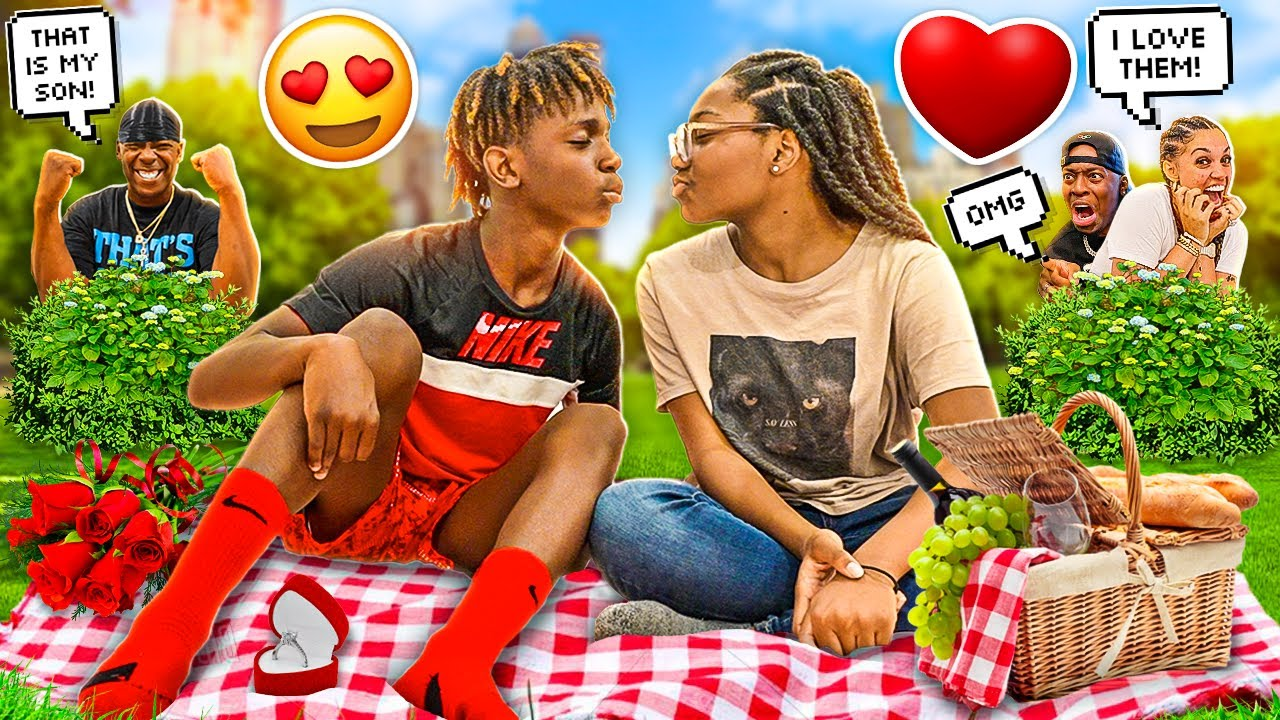 Download MY 13 YEAR OLD BROTHER DARION WENT ON A DATE WITH HIS CRUSH JANELLE LEADS TO SOMETHING ELSE 🌹