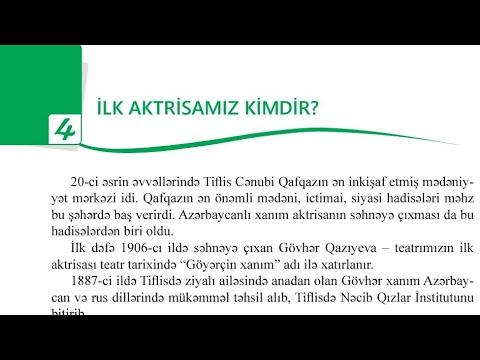 Azərbaycan dili 8-ci sinif \