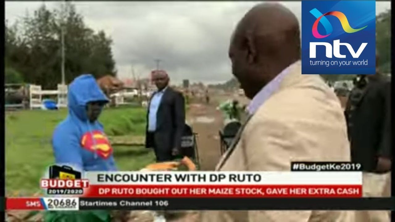 Eunice Atieno, woman who sold maize to DP Ruto, speaks about incident