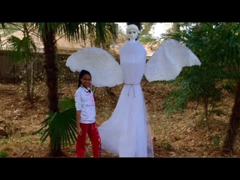 Diy Outdoor Christmas Angel Quot Gabriel Quot Youtube
