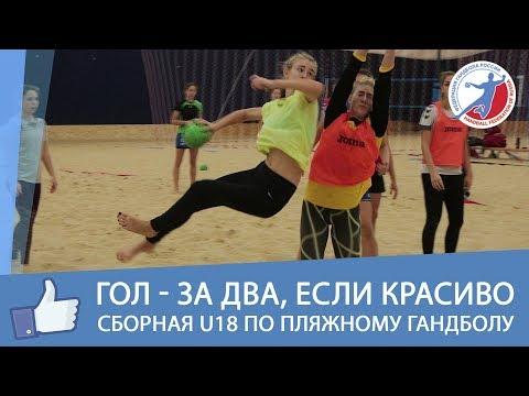 Сборная России по пляжному гандболу U18