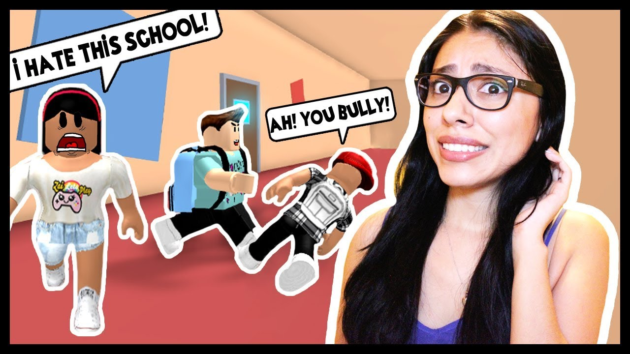 Bullied By Youtubers At Youtube High School Roblox Escape The