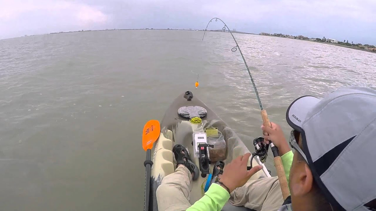 Kayak fishing at south padre island spi port isabel for Bay fishing spi