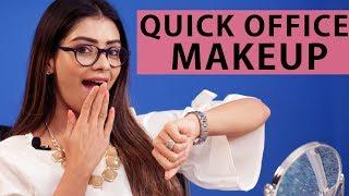 Quick Office Makeup Look by Leena | Foxy Makeup Tips