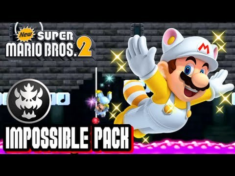 New Super Mario Bros  2 Coin Rush Mode DLC - Impossible Pack
