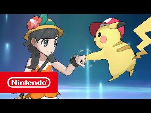 Pokémon Ultra Sun and Pokémon Ultra Moon – Launch Trailer (Nintendo 3DS)