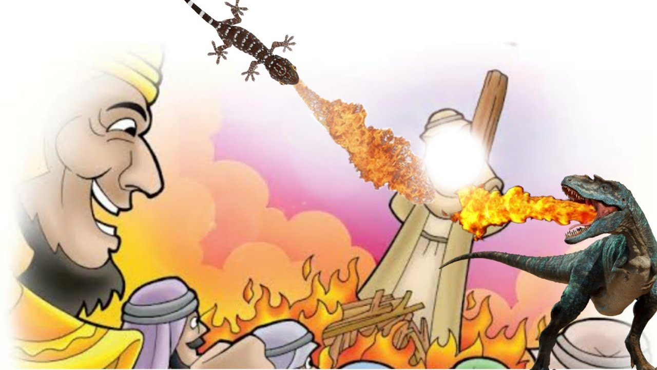 Awal legenda Abraham tidak mati dibakar ?@Inyo Manis