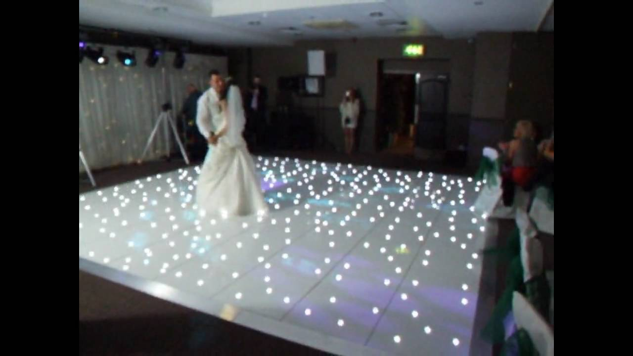 White Led Dance Floor Hire You