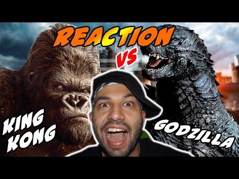 King Kong vs Godzilla. Épicas Batallas de Rap del Frikismo | keyblade | Video Reaccion