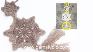 How To Fasten Two Stars And Making A Tassel For A Christmas Decoration