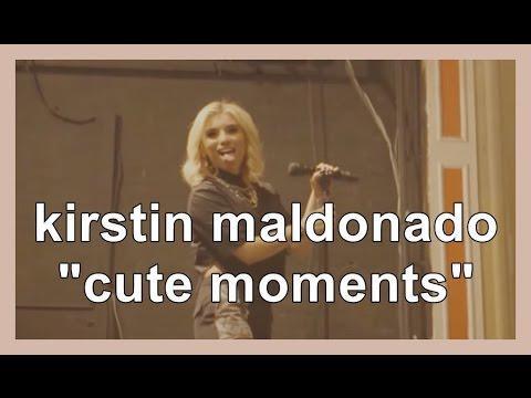 kirstin maldonado 'cute moments'