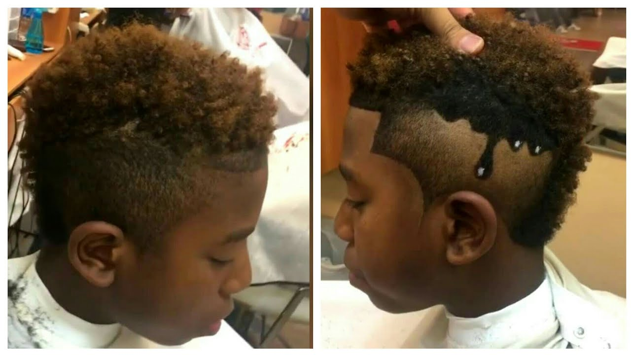 Frohawk With Drip Design  Cut By Jay Tee The Barber  Afro Haircut