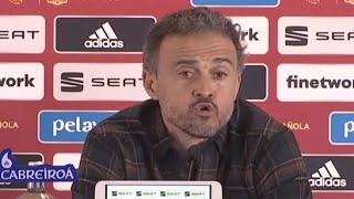 Реакция ЛУИСА ЭНРИКЕ на разгром сборной Германии Испания 6 0 Германия