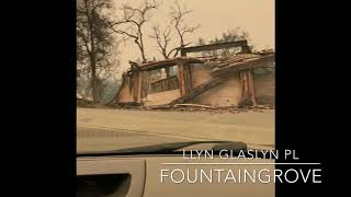Tubbs fire in santa rosa fountaingrove area destroyed