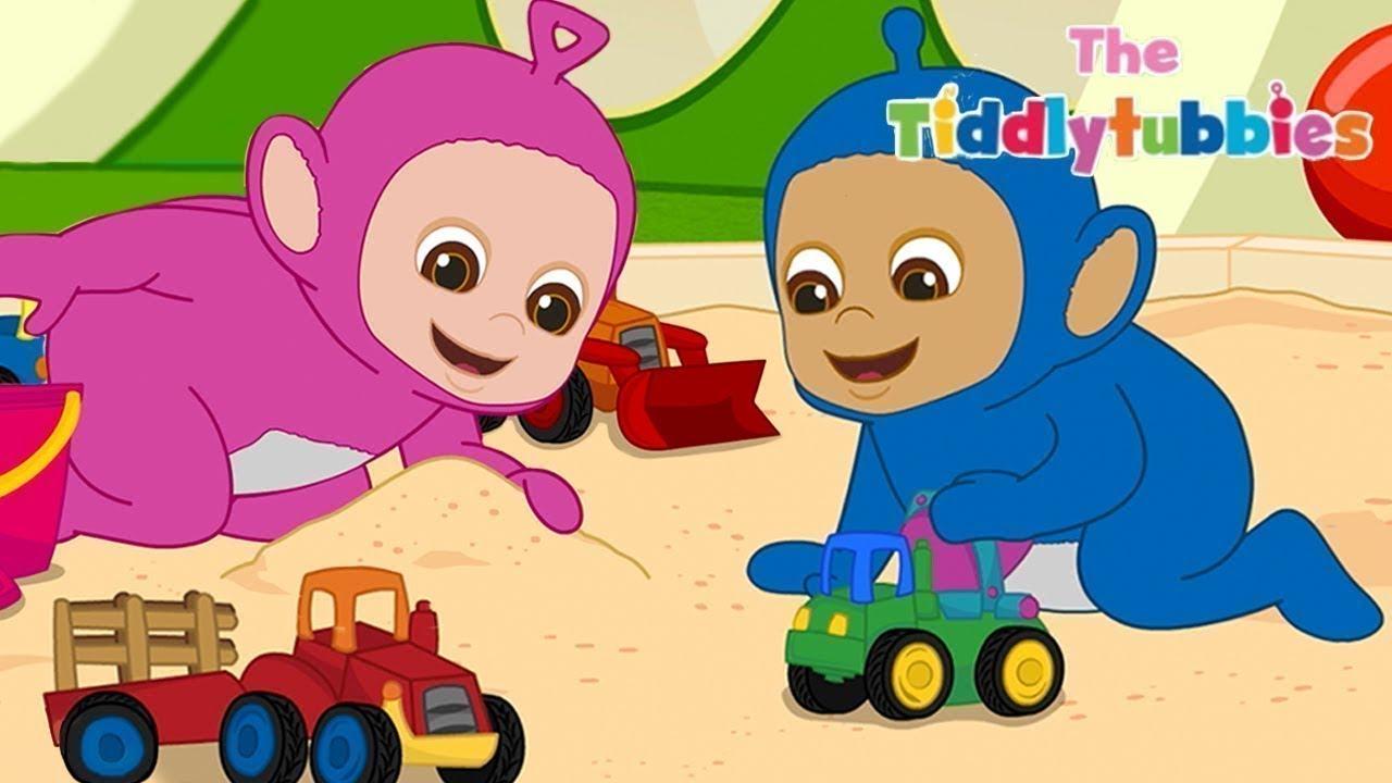 Teletubbies ★ NEUE Tiddlytubbies Kartoon Serie! ★ Episode 10: Der Babywippe ★ Kartoon für Kinder