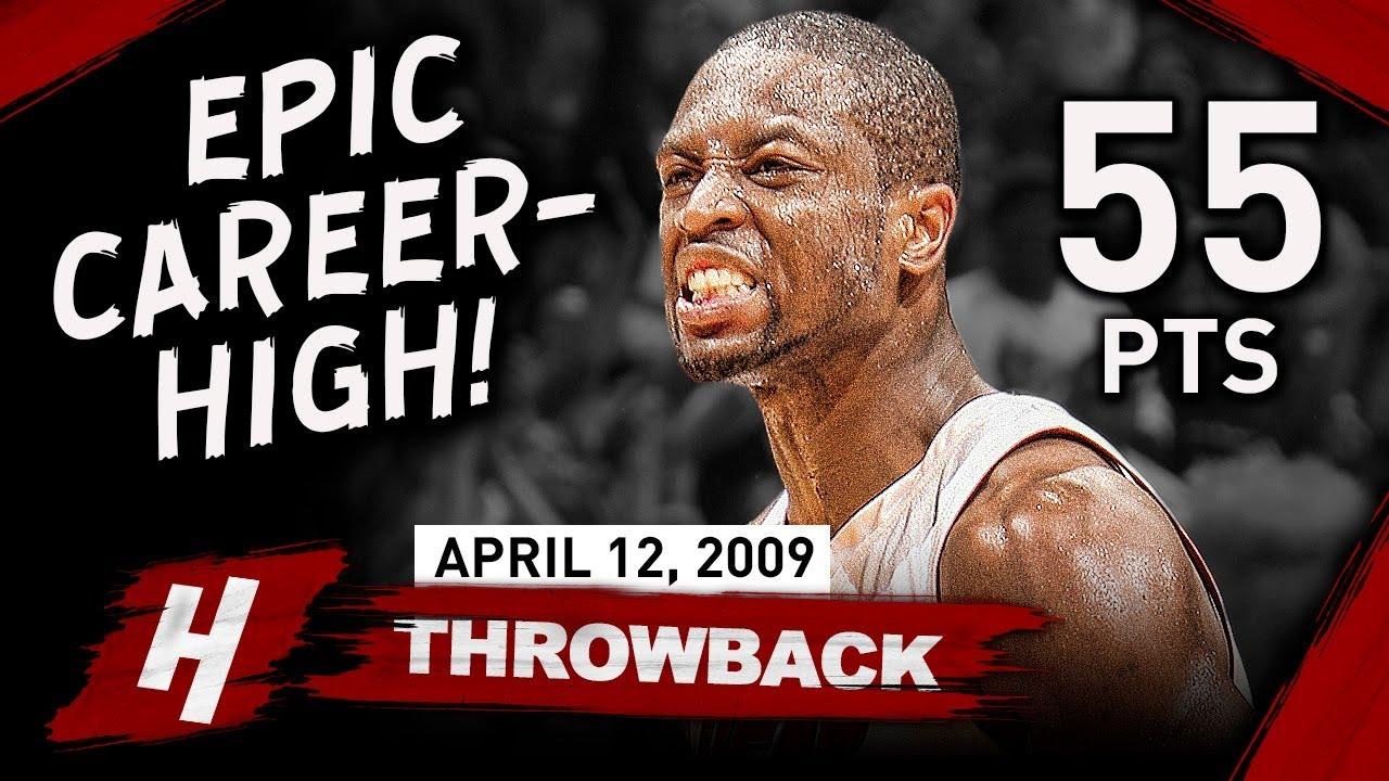 Download Dwyane Wade EPIC Career-HIGH Full Highlights vs Knicks 2009.04.12 - 55 Points, MVP Mode!