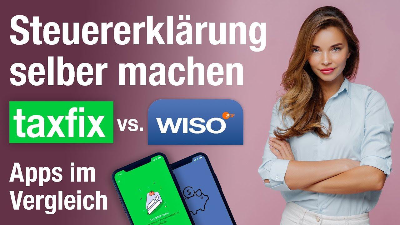 Steuererklärung selber machen: Steuer Apps von Taxfix und ...