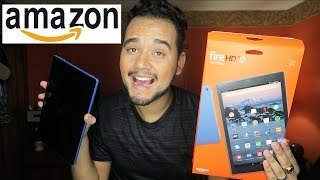 AMAZON FIRE HD 10 TABLET 2017 - UNBOXING!