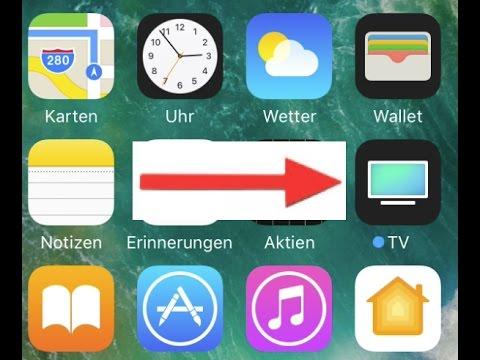 apple 39 s neue tv app auf dem iphone vor der. Black Bedroom Furniture Sets. Home Design Ideas