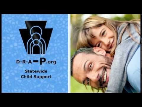 DRAP Pennsylvania Child Support Information Clip