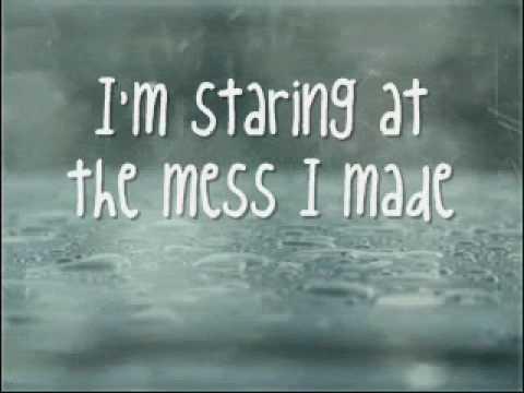 THE MESS I MADE - Parachute Lyrics