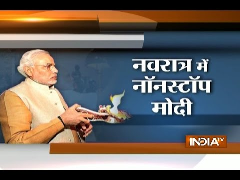 How PM Narendra Modi keeps Navratri fasts in packed schedule