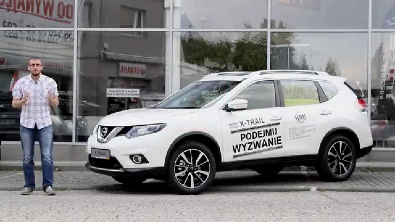2015 nowy nissan x trail 1 6 dci 4x4 polska prezentacja. Black Bedroom Furniture Sets. Home Design Ideas