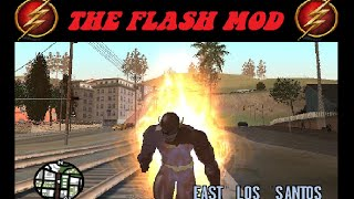 GTA SA - The Flash Super Speed Run!!! 2015 (New MOD) PART 3