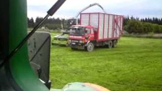 cutting silage the new zealand way