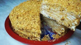 Торт Наполеон, самый вкусный и простой в приготовлении!